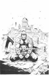 Eternal Warrior Cover: Diego Bernard by boysicat