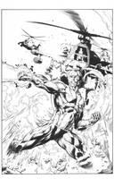 X-O Manowar #41 Cover B: Diego Bernard by boysicat