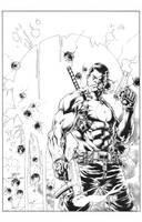 Diego Bernard: Bloodshot Cover by boysicat