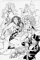DC's Super Babes by boysicat