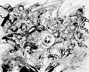 Avengers: Civil War by boysicat