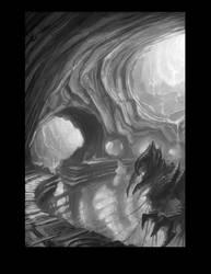 Alien shrine by Cliffhangar