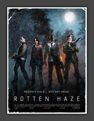 left 4 dead movie poster by sklare