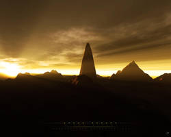 Stone Desert by Scorpidilion