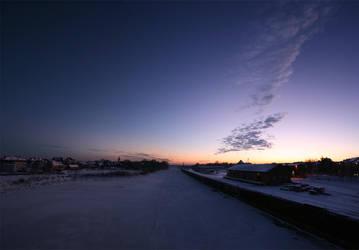 Frozen Harbour by Scorpidilion