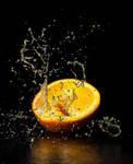 Happy Orange by Scorpidilion