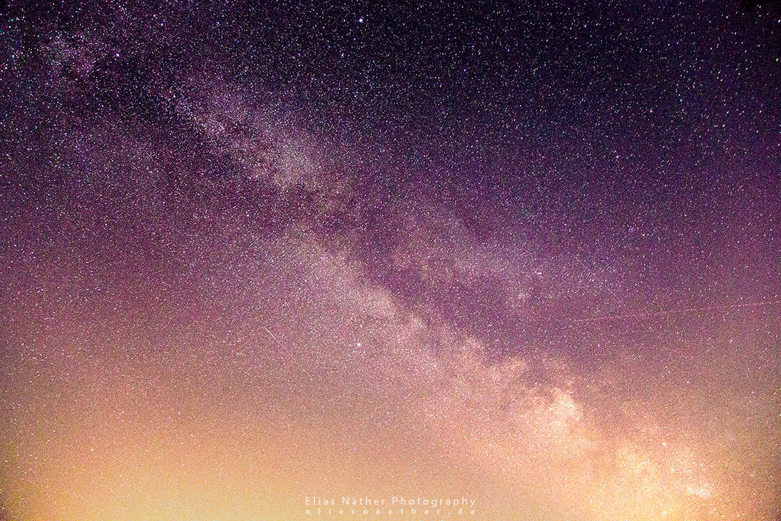 Walking Around in the Milky Way by Scorpidilion