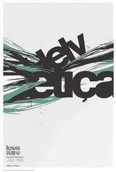Helvetica flux by Sonicbeanz