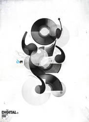 Vinyl Abstract by Sonicbeanz