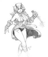 Queen's Blade Shizuka by pumpkinsareholy