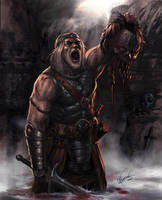 The return of Beowulf by cimoart