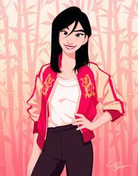 Mulan by PONZUxPONZU