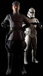 [SFM] Clone Officer and Clone Trooper by Sharpe-Fan