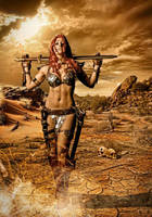 Red Sonja by Artyfakes