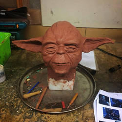 Yoda in the making by Artyfakes