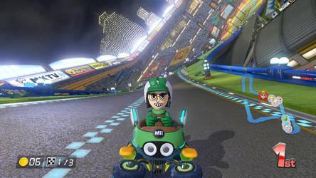 Hal (Mii) in Mario Kart 8 by jared33