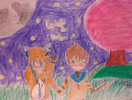 Art Trade With LightSilverMoon5201 by mlptheraritysparkle
