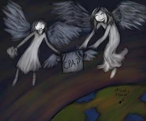 Heaven's Delievery by nekozikasilver1