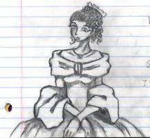 portrait of a lady by nekozikasilver1