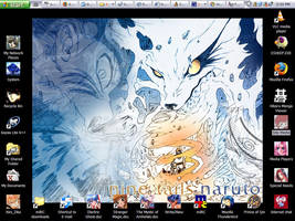 Naruto Desktop one by nekozikasilver1