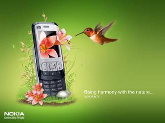 Nokia N74 by B3rko