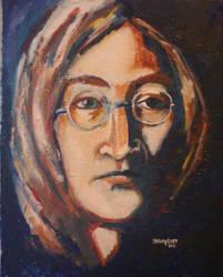 John Lennon by callinglast