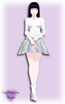 [Naruto AU] Cute date set Hinata by ll-LIZ-KAGENE-ll
