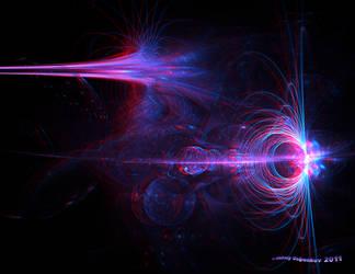 Galaxy Centaurus_A Anaglyph 3D by Osipenkov