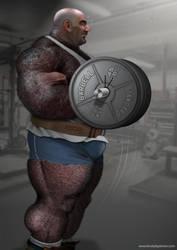 Muscle Machinery by brutebysimon