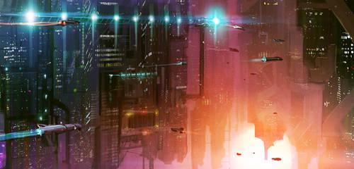 Spaceport by Cristi-B