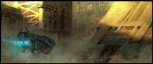 Smog City by Cristi-B