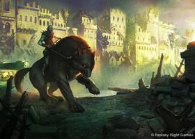 Through the Ruins by Cristi-B