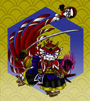 Shishi-Toto no Mikoto - colour suggestion by Master-Kankuro