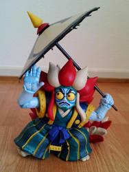 custom Kabukiroid figure by Master-Kankuro