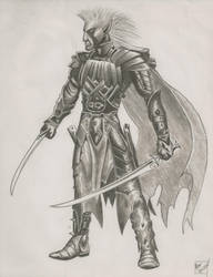 Alan Drizzt by The-Stalwart