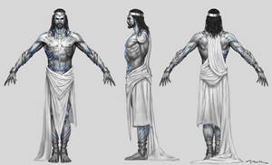 God of War III- Poseidon God by andyparkart