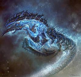 God of War III- Poseidon 04 by andyparkart