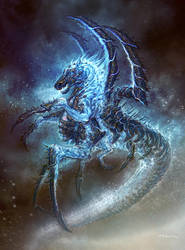 God of War III- Poseidon 03 by andyparkart