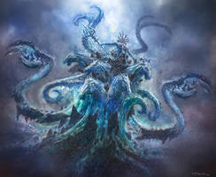 God of War III- Poseidon 01 by andyparkart