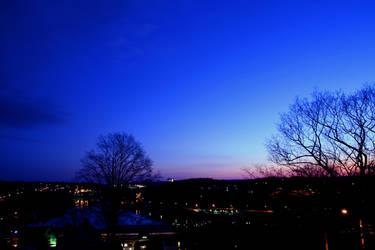 Night Harbor by HeyEmmie