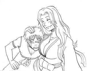 Matsumoto and Hisagi by Darci-San