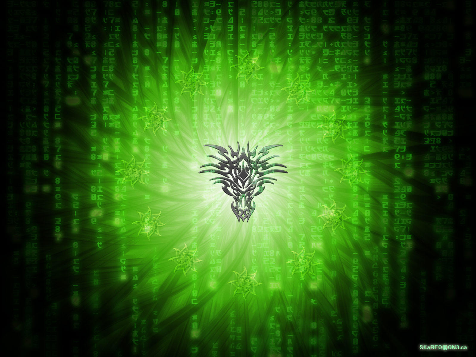 Matrix Dragon by skareo
