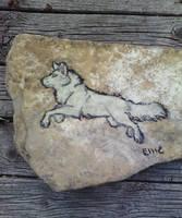 White Wolf Rock by WindWo1f