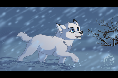 Against the Storm by WindWo1f