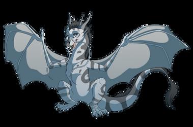Stormbreak Dragon by WindWo1f