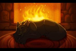 Midnight's Fire by WindWo1f