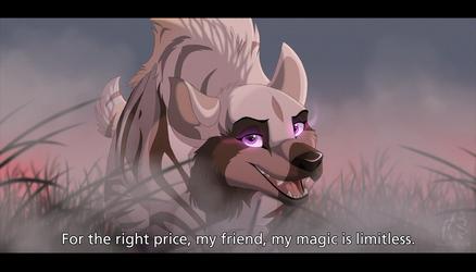 A Little Magic by WindWo1f