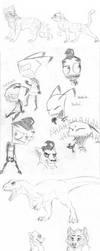 Sketch Dump 15 by WindWo1f