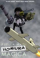 Akemi Homura by PaksiwIrongbuang