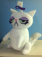 MLP Opal aka Opalescene Cat Plush by SowCrazy
